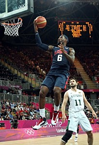 Lebron James — Team USA Basketball — Olympics 2012