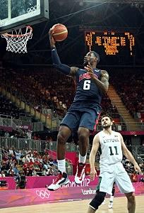 Lebron James — Team USA Basketball — Olympics 2012