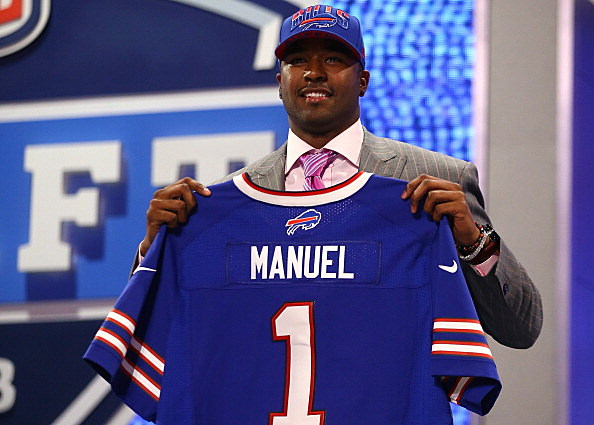 PITTSFORD, N.Y. (AP) — Buffalo Bills coach Doug Marrone has no preconceptions in his approach to the team's quarterback competition.  Rookie first-round pick E.J. Manuel might have the raw potential, and veteran free-agent addition Kevin Kolb the benefit of six seasons of NFL experience. Marrone says the two will have to settle things on the field, because he'll base his decision on which one gives the Bills the best chance to win now and not later.  It's a competition that will resume Sunday night, when the Bills open training camp with their first practice in suburban Rochester.  The plan is to have Manuel and Kolb evenly split practice time for the indefinite future before Marrone says it will become apparent to him and the entire team which one has earned the job.