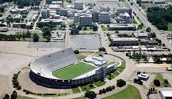 veterans memorial stadium in Jackson MS