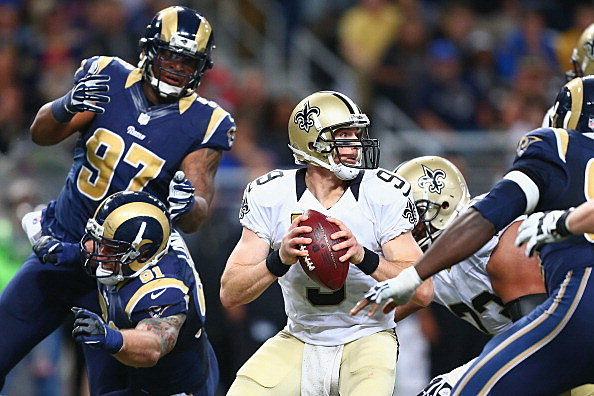 New Orleans Saints v St. Louis Rams