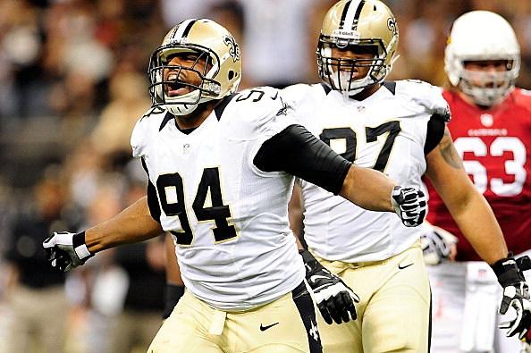 Cameron Jordan #94 of the New Orleans Saints