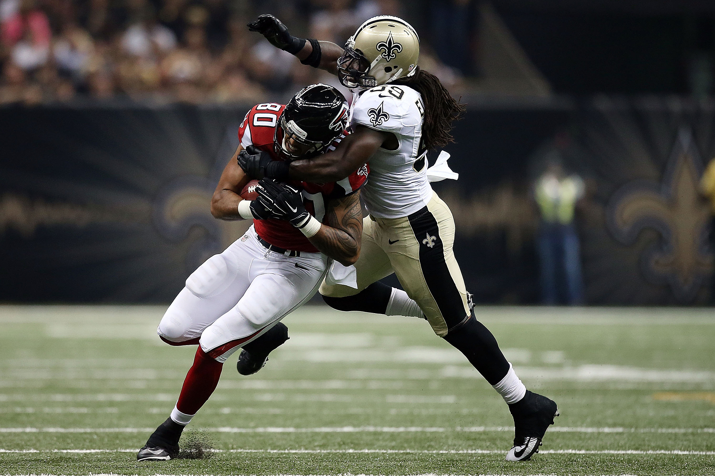 Saints to put Dannell Ellerbe on IR, cut him once foot heals