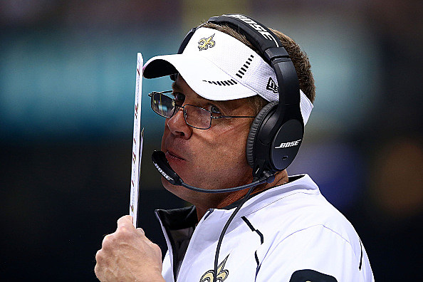 Head coach Sean Payton of the New Orleans Saints