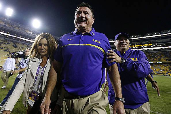 LSU hires Ed Orgeron as new football coach