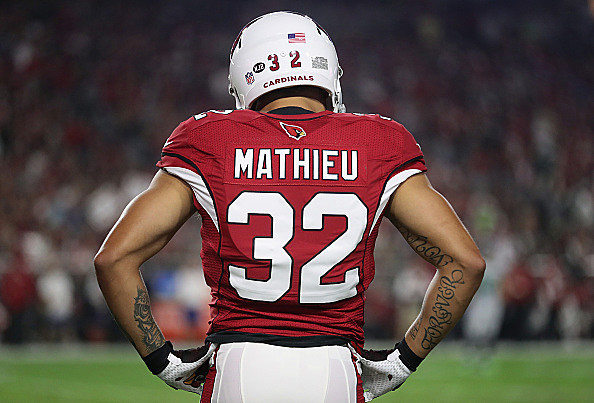Arizona Cardinals place DB Tyrann Mathieu on injured reserve with shoulder injury