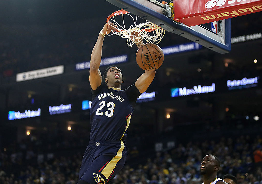 Anthony Davis among 2017 NBA All-Star Game starters