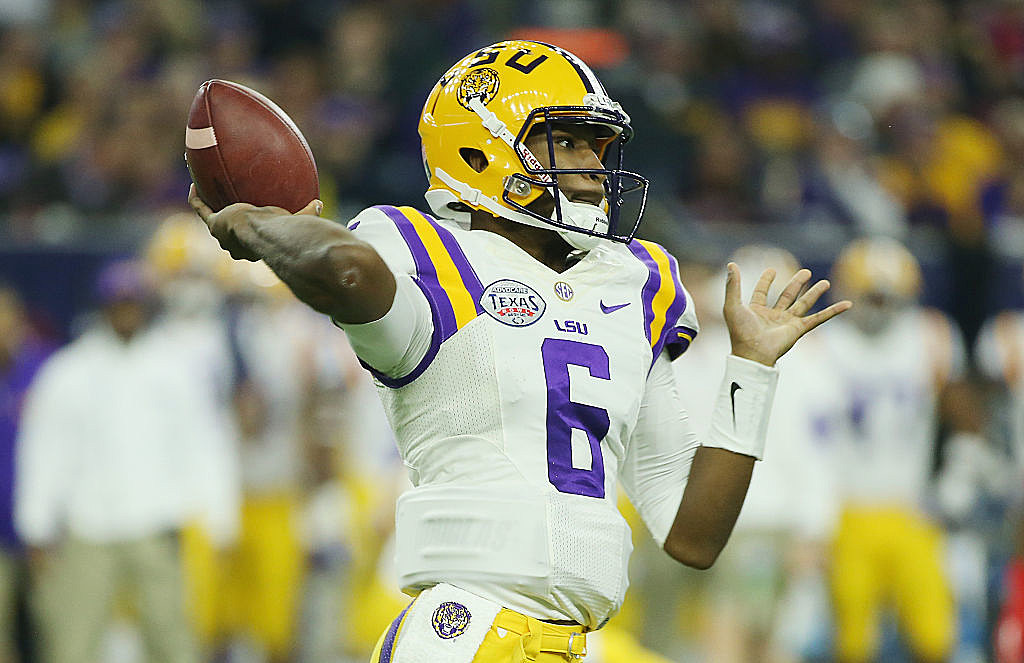 QB Brandon Harris transferring from LSU