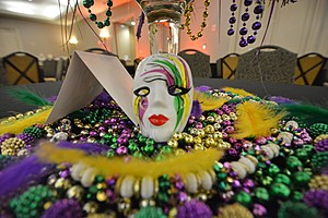 Krewe De Bayou 2017 Mardi Gras Ball, photo by Ryan Baniewicz