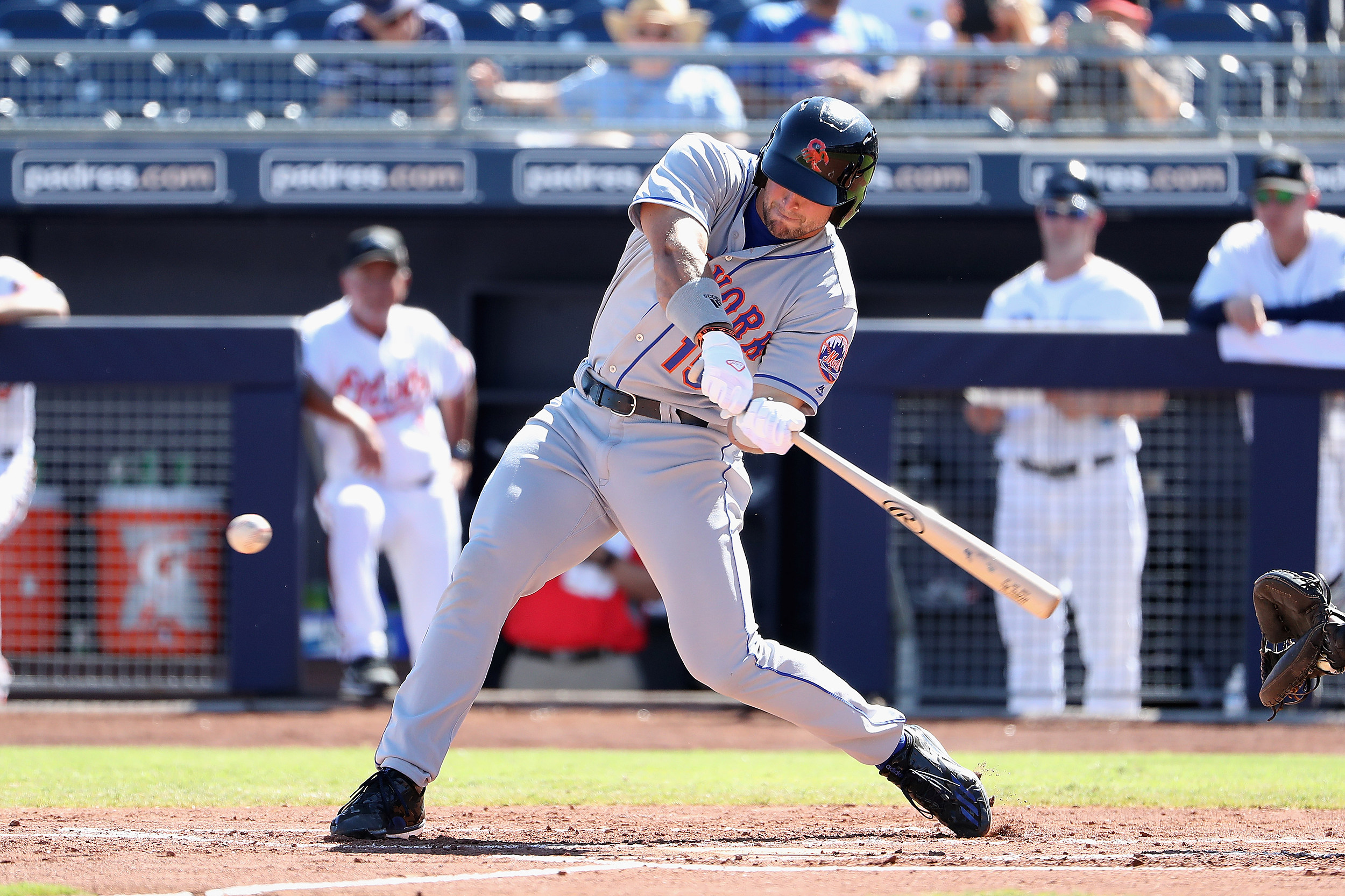 Tim Tebow Goes 0-For-3 With 2 Strikeouts In Spring Debut