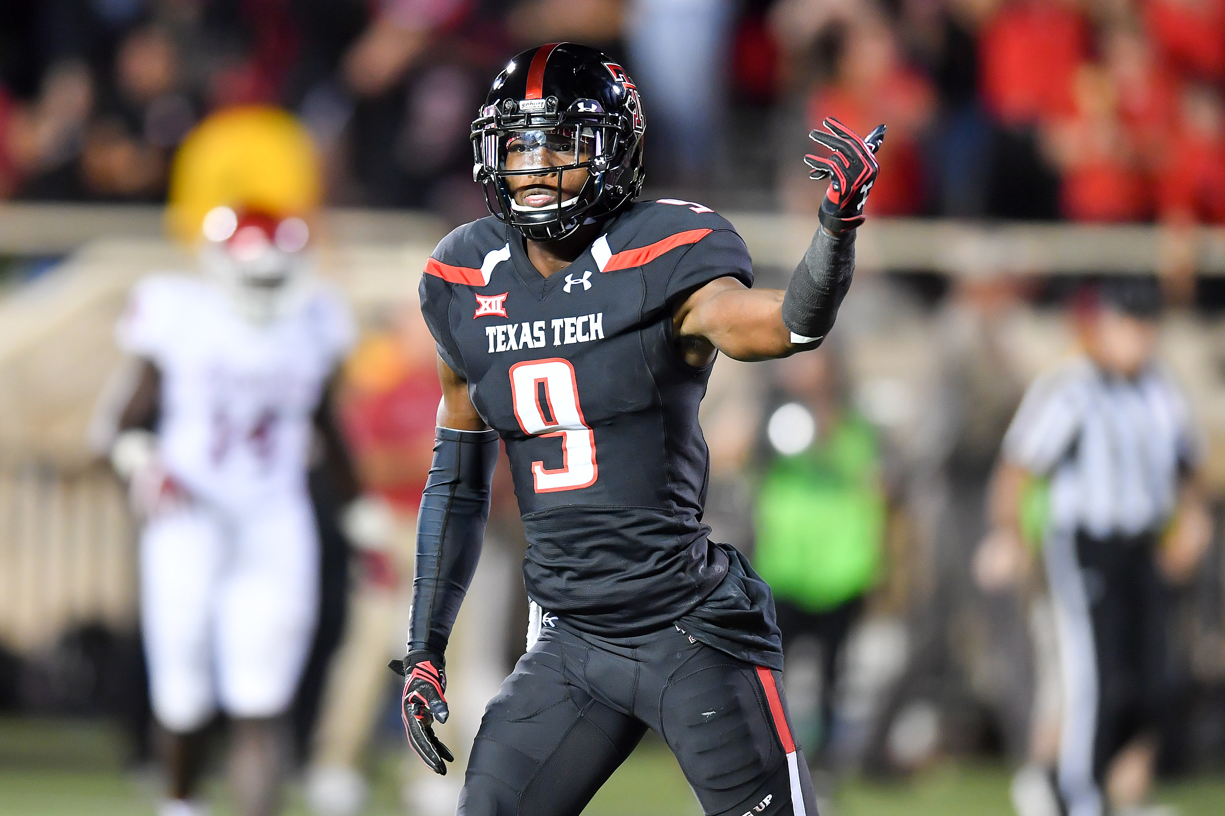Former Texas Tech WR Jonathan Giles transferring to LSU