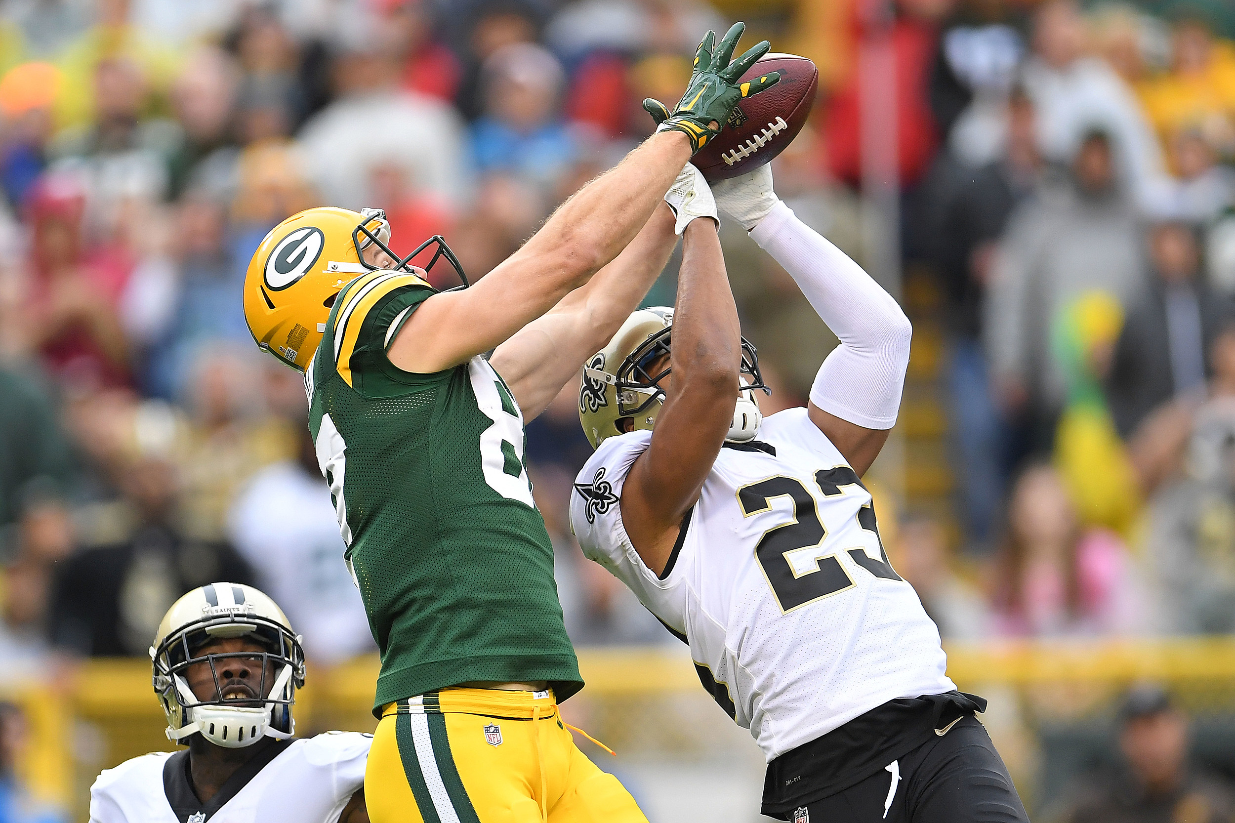 Saints Win 4th Straight Defeat Packers 26 17